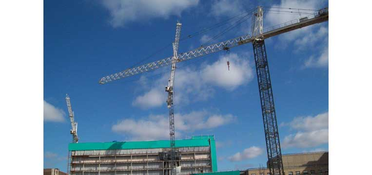 Tower Crane Installation in Cleveland