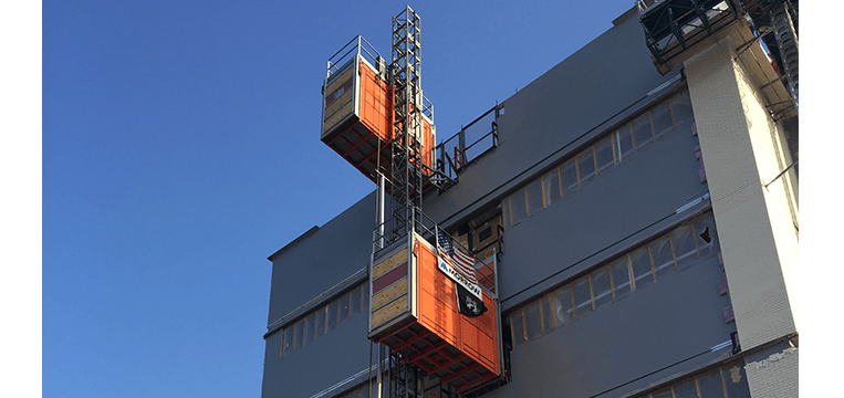 Personnel Material Hoist Supply & Installation